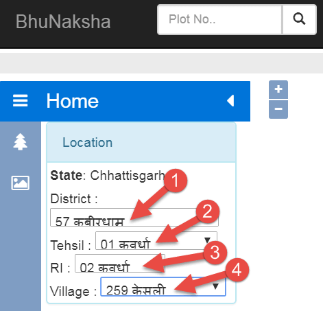 check-cg-bhu-naksha-online